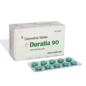 Algemeen DAPOXETINE te koop in Nederland: Duratia 90 mg in online ED-pillenwinkel aga-in.com